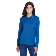 Core 365 78192 Ladies Long Sleeve Pinnacle Performance Polyester Polo