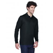 Core 365 88192 Mens Long Sleeve Pinnacle Performance Pique Polo