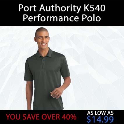 Port Authority K540 Performance Polo